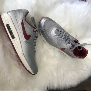size 40 b3f54 e136f Nike Shoes - Nike Men s Air Max 1 HYP QS, NIGHT TRACK -METALLIC